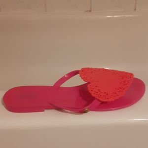 Brand New Rubber Jelly Slides by MELISSA Wmns 7
